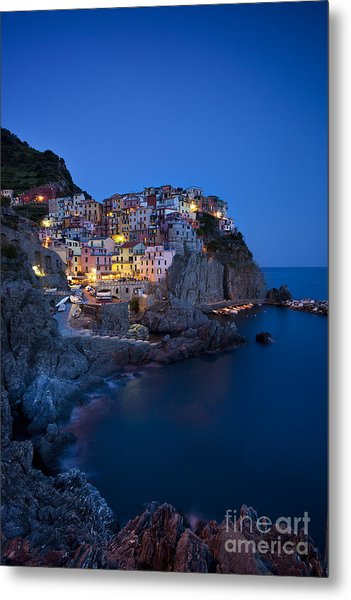 Metal Print featuring the photograph Cinque Terre by Brian Jannsen