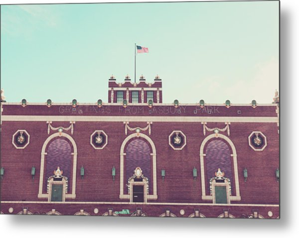 Convention Hall Metal Print by Erin Cadigan