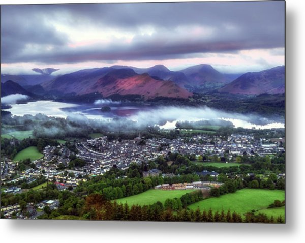 Derwentwater - Lake District Metal Print