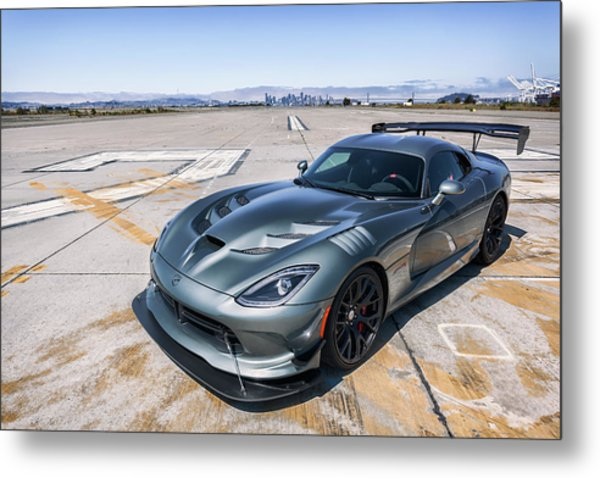 Metal Print featuring the photograph #dodge #acr #viper by ItzKirb Photography
