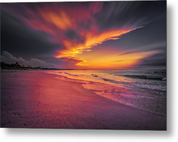 Dominicana Beach Metal Print
