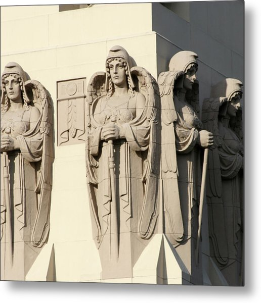 4 Guardian Angels Metal Print