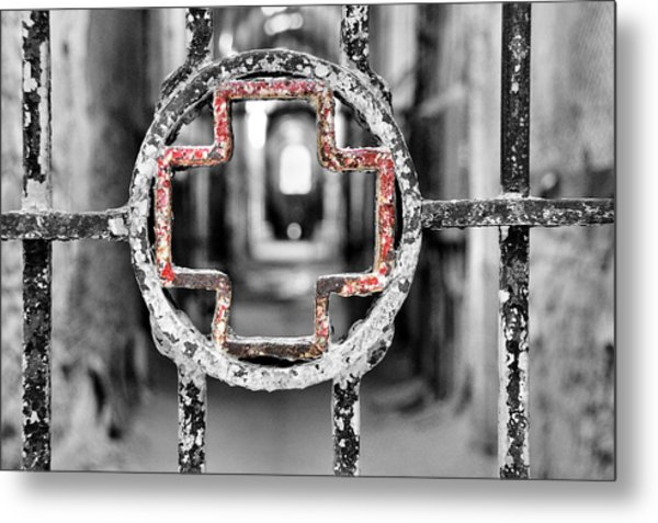 Hospital Wing View Metal Print by JAMART Photography