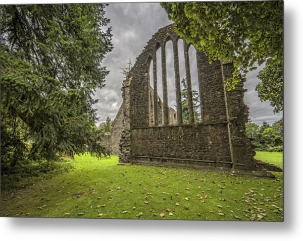 Inchmahome Priory Metal Print