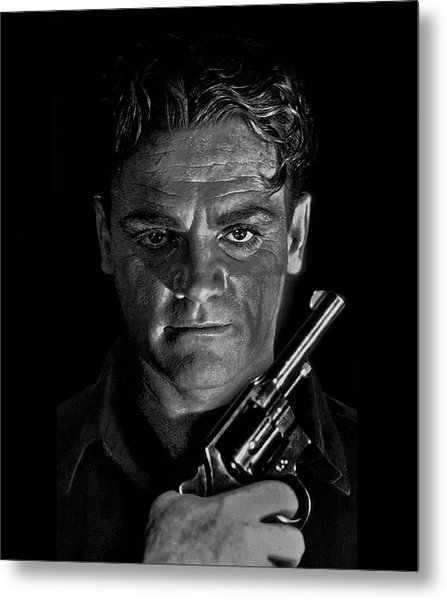 James Cagney - A Study Metal Print