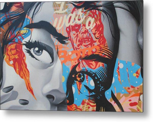 La Street Art Metal Print