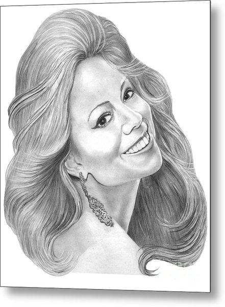 Mariah Carey  Metal Print