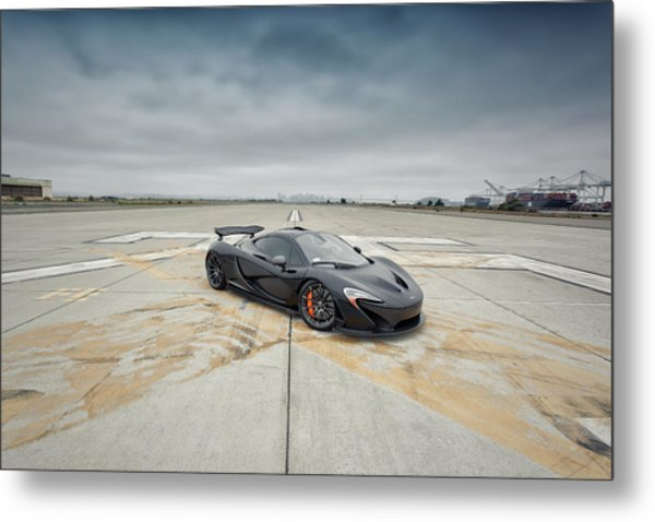 Metal Print featuring the photograph #mclaren #mso #p1 by ItzKirb Photography