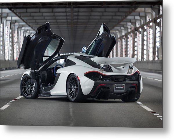 Metal Print featuring the photograph #mclaren #p1 #print by ItzKirb Photography