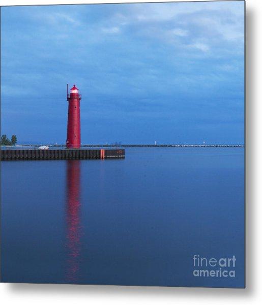 Muskegon Lighthouse Metal Print