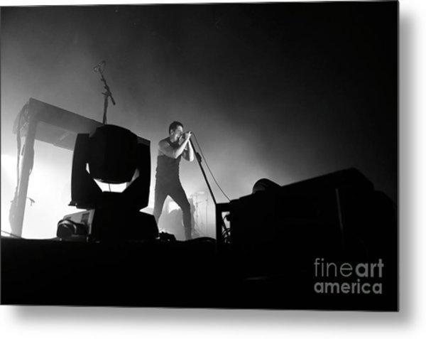 Nine Inch Nails Metal Print