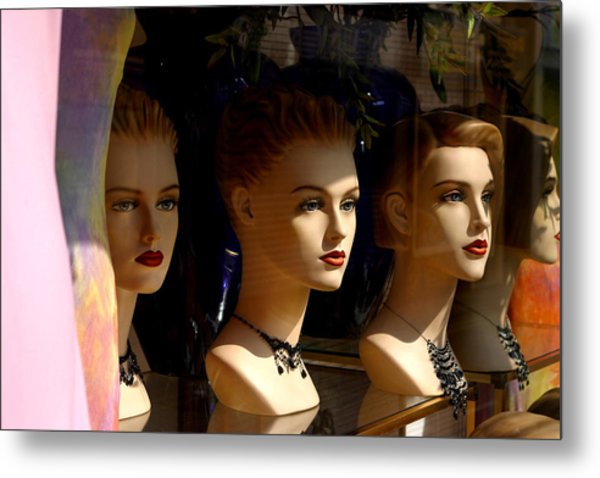 4 Of Us Metal Print by Jez C Self