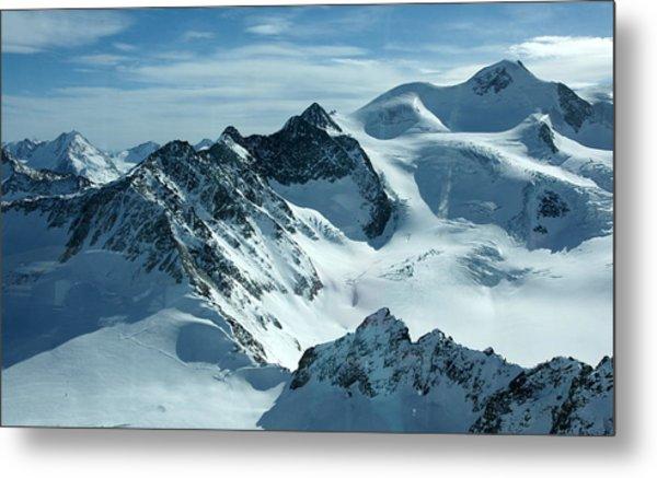 Pitztal Glacier Metal Print