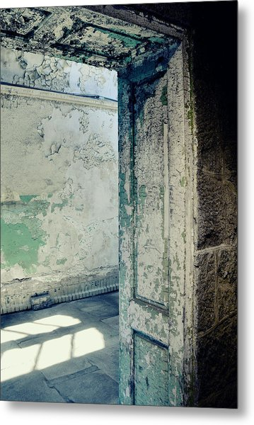 Prison Light And Shadows Metal Print by JAMART Photography