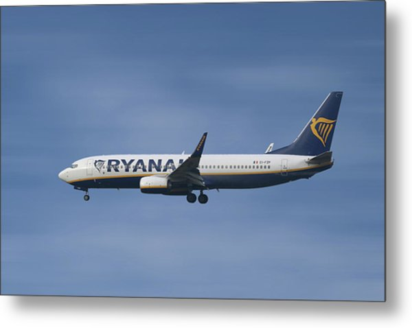 Ryanair Boeing 737-8as  Metal Print
