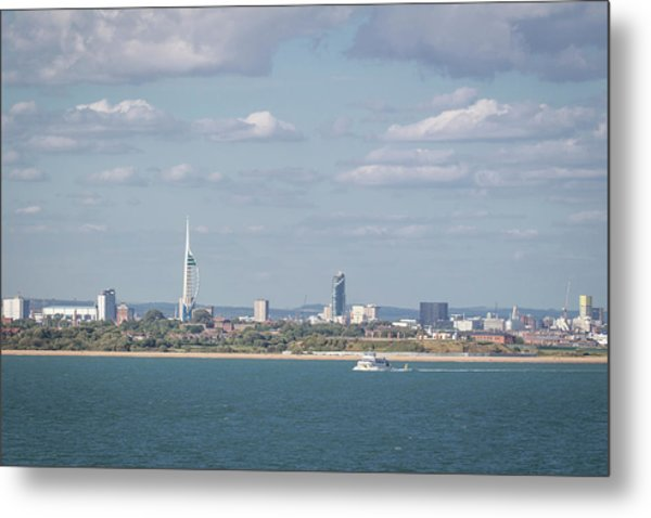 Spinnaker Tower Metal Print