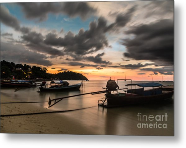 Sunset Over Koh Lipe Metal Print