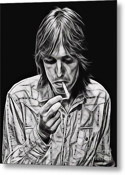 Tom Petty Collection Metal Print