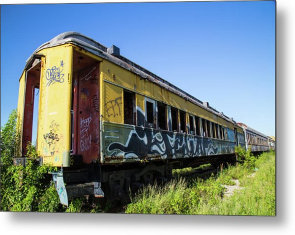 Metal Print featuring the photograph Train Art by Dart Humeston