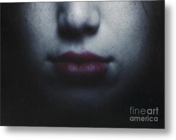 Trust Yourself Then You Will Know How To Live Metal Print