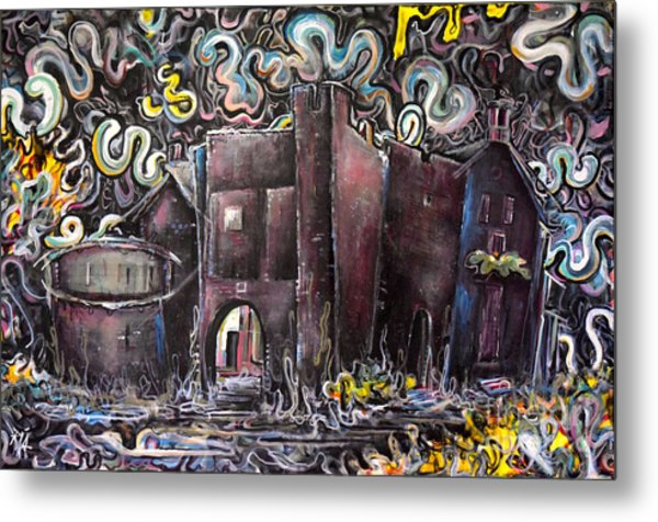 Untitled Metal Print by Mark Blome