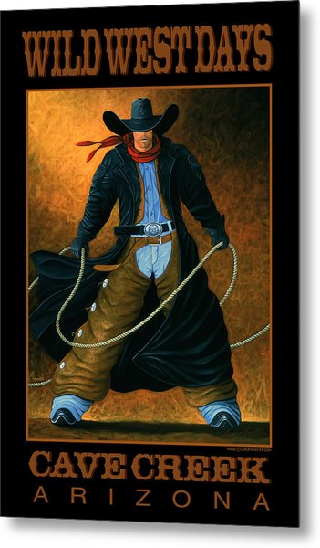 Wild West Days Poster/print  Metal Print
