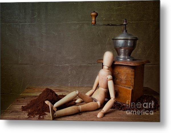 Working The Mill Metal Print