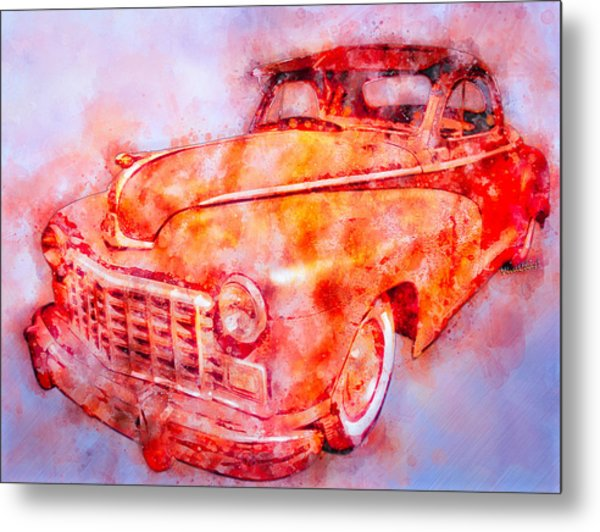 48 Dodge 3 Window Business Coupe Metal Print