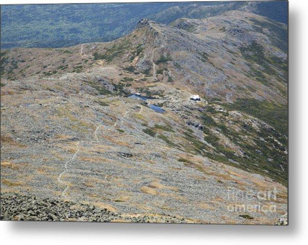 Appalachian Trail - White Mountains New Hampshire Usa Metal Print