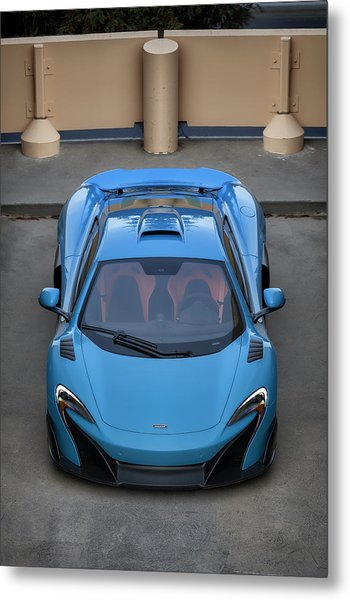 Metal Print featuring the photograph #mclaren #675lt #print by ItzKirb Photography