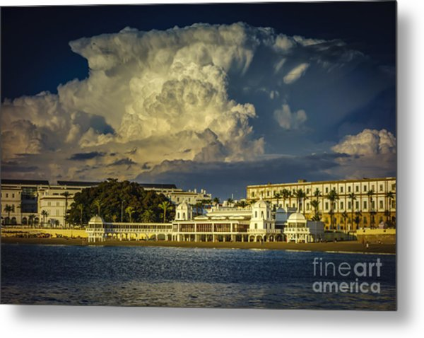 Metal Print featuring the photograph Spa Of Our Lady Of The Palm Cadiz Spain by Pablo Avanzini