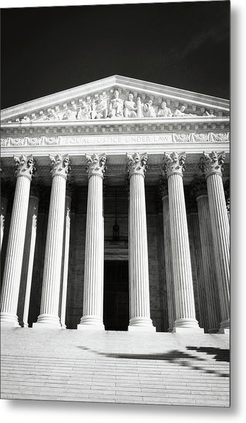 Supreme Court Of The United States Of America Metal Print