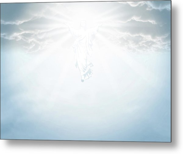The Ascension And Resurrection Metal Print