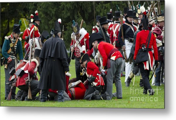 The Battle Of Queentson Heights Metal Print