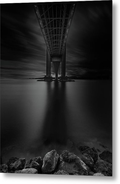 Metal Print featuring the photograph 50 Shades Of Verrazano by Edgars Erglis
