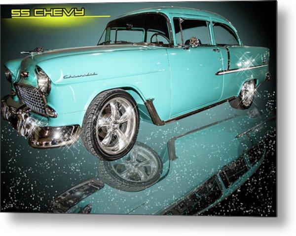 55 Chevy Metal Print