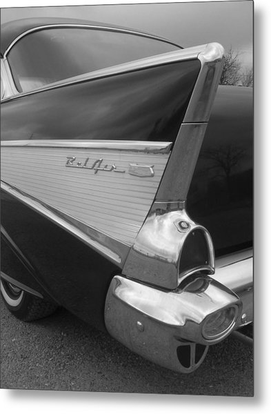 57 Chevy Metal Print by Audrey Venute
