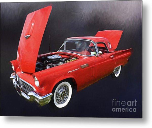 57 Thunderbird Metal Print