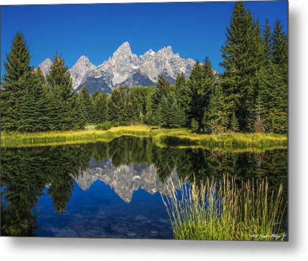 #5700 - Shwabakers Landing, Wyoming Metal Print