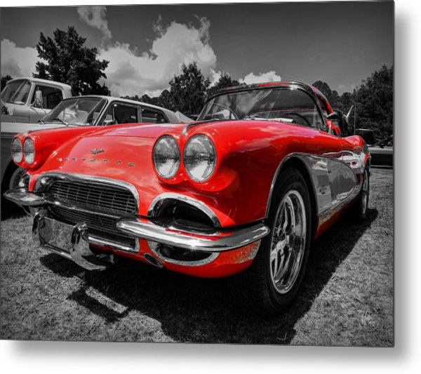 '59 Corvette 001 Metal Print