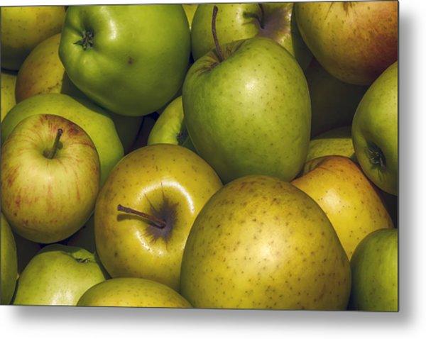 Apples Metal Print by Robert Ullmann