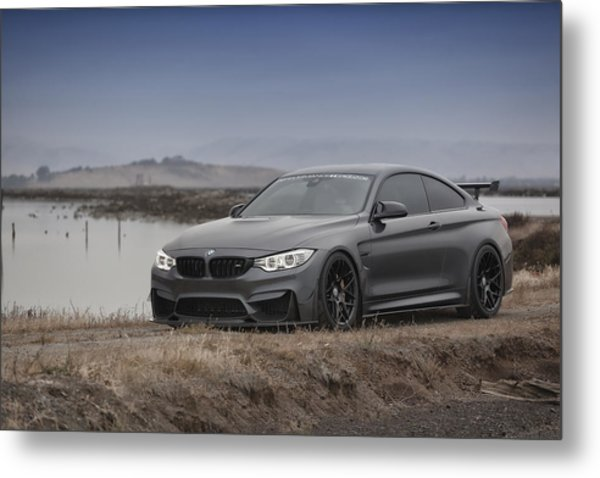 Metal Print featuring the photograph Bmw M4 by ItzKirb Photography