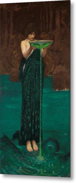 Circe Invidiosa Metal Print