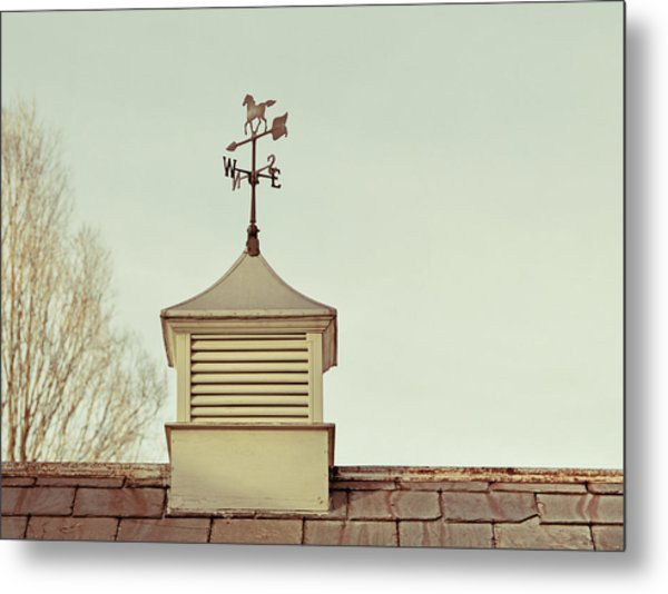 Vermont Direction   Metal Print by JAMART Photography