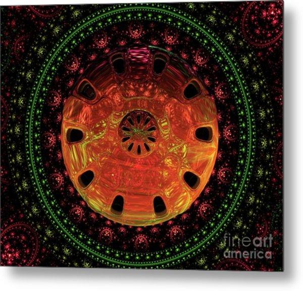 Mysteries Of The Universe By Raphael Terra Metal Print