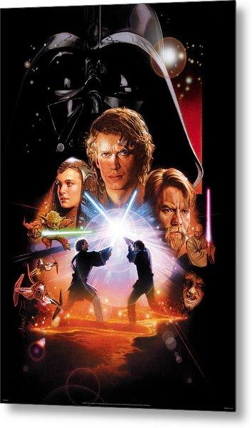 Star Wars Episode IIi - Revenge Of The Sith 2005 Metal Print