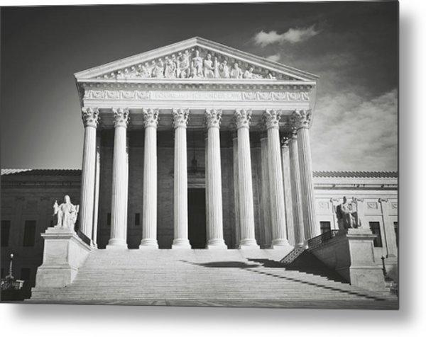 Supreme Court Building Metal Print