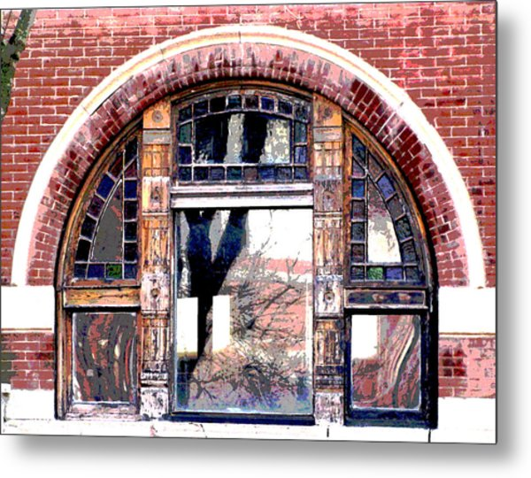 Window Series Metal Print by Ginger Geftakys