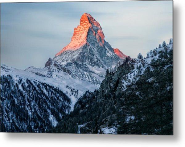 Zermatt - Switzerland Metal Print
