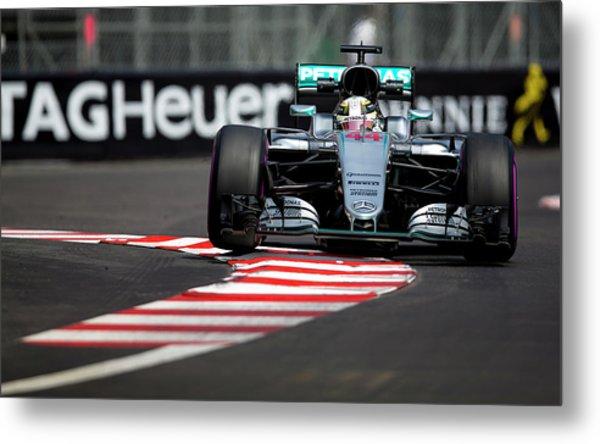 Formula 1 Monaco Grand Prix 2016 Metal Print